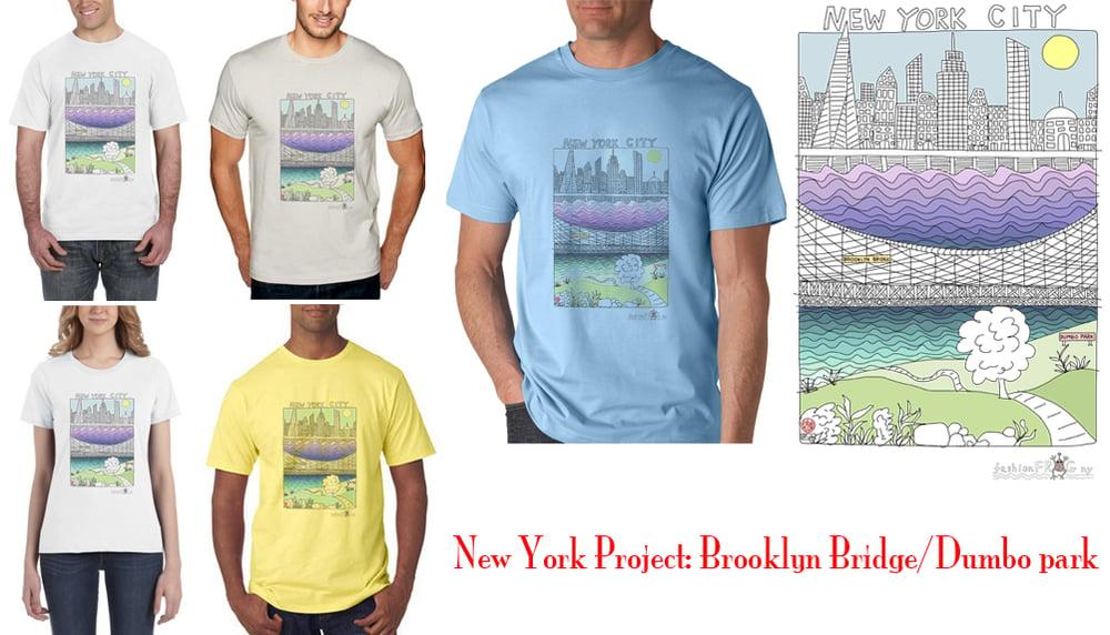 Image of New York Project - brooklyn bridge park/dumbo