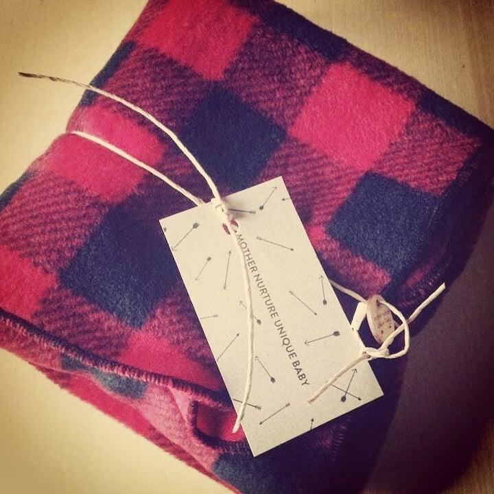Image of Lumberjack fleece blanket
