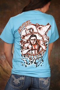 Image of Spiritual Allies / Shirt - Carolina Blue