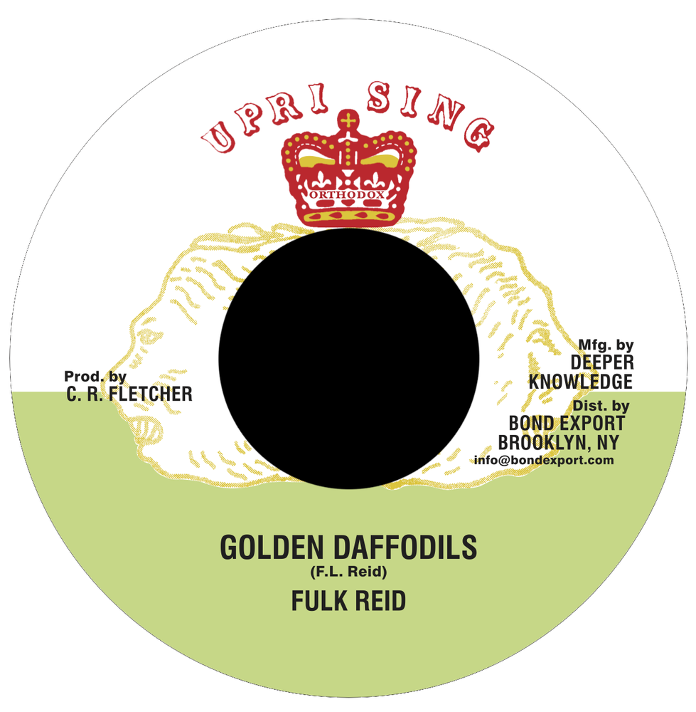 "Image of Fulk Reid - Golden Daffodils 7"" (Uprising)"