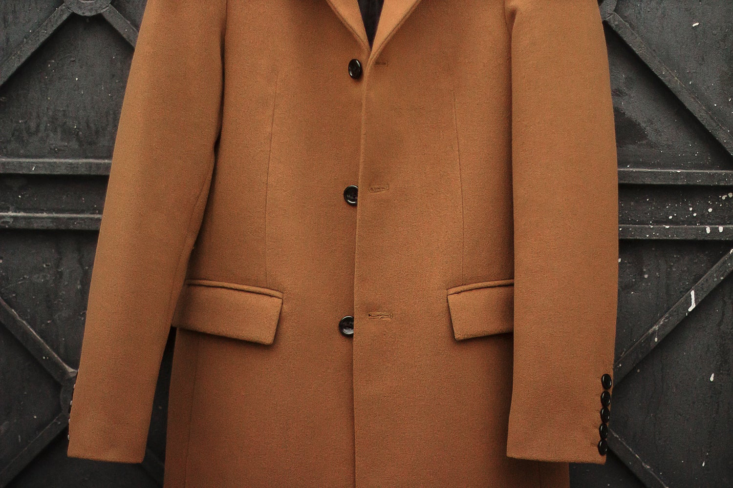 Image of LIMITED EDITION | Terracotta Wool-Blend Coat