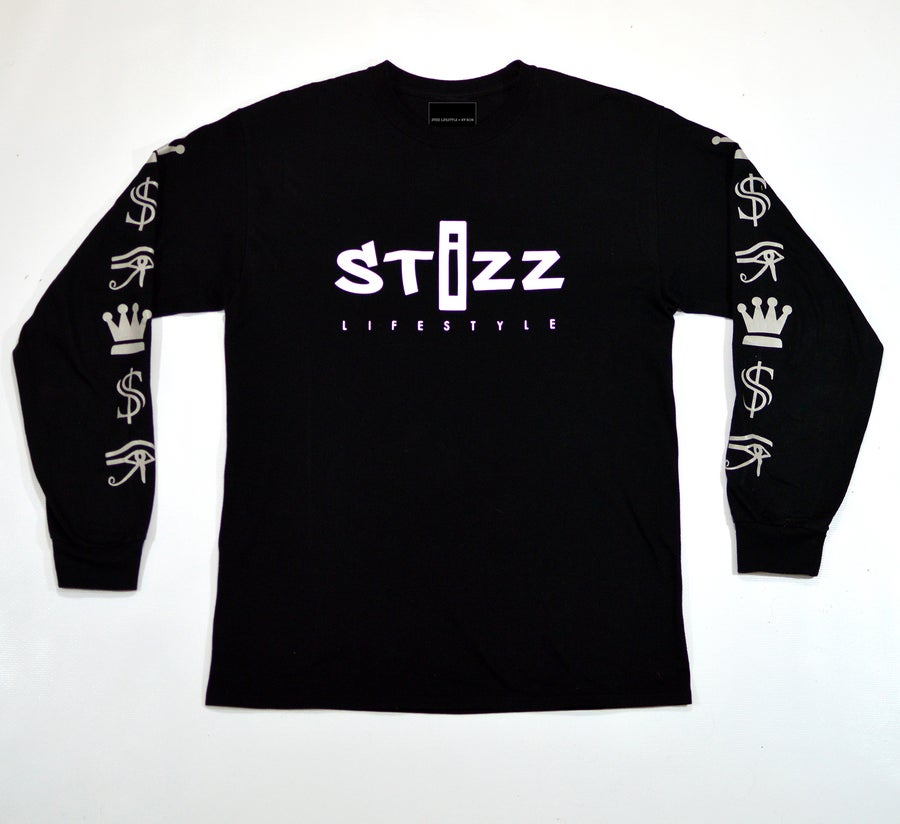Image of Elite Long-Sleeve in Black with 3M