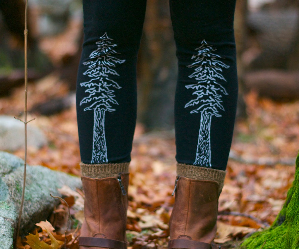 Image of +Redwood Tree+ Leggings