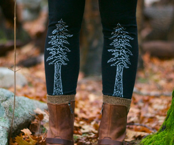 Image of Redwood Tree Leggings