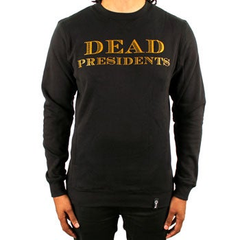 Image of DP Remix Crewneck (Blk/Gold)