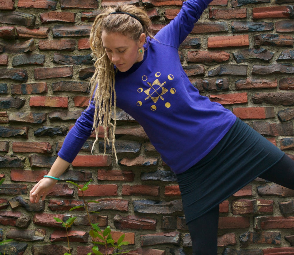 Image of +Lunar+ Iris Organic Cotton Long Sleeve