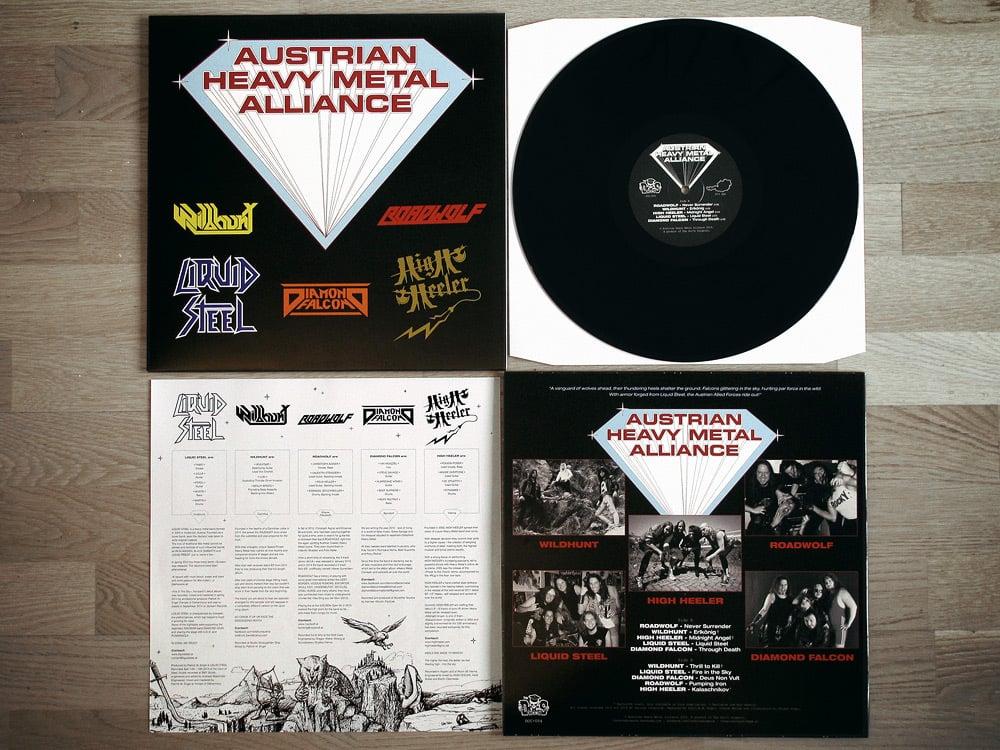 Image of AUSTRIAN HEAVY METAL ALLIANCE LP