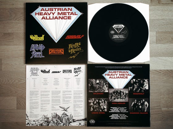 Image of AUSTRIAN HEAVY METAL ALLIANCE LP