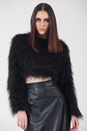 Image of Fur Crop Top
