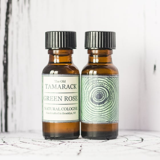 Image of GREEN ROSE - Natural Botanical Cologne