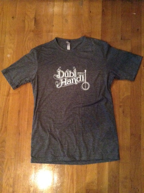 Dubl Handi Gray or Heather Red T-Shirt