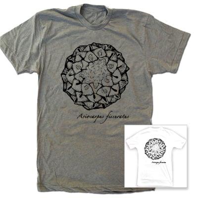Image of Ariocarpus fissuratus Cactus T shirt,