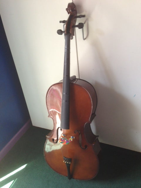 Image of Cremona SC-100 Premier Novice Cello, Full-Size 4/4