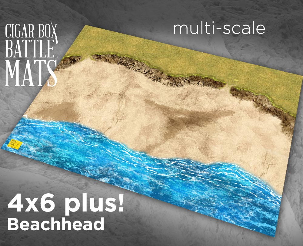 Image of Beachhead -- 4'x6' plus -- #160