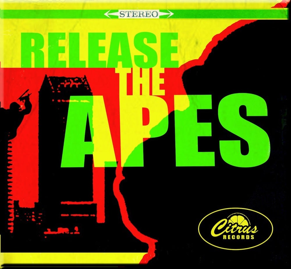 Image of FLSKA08 - The Apes FLA, 'Release The Apes' Digipack CD