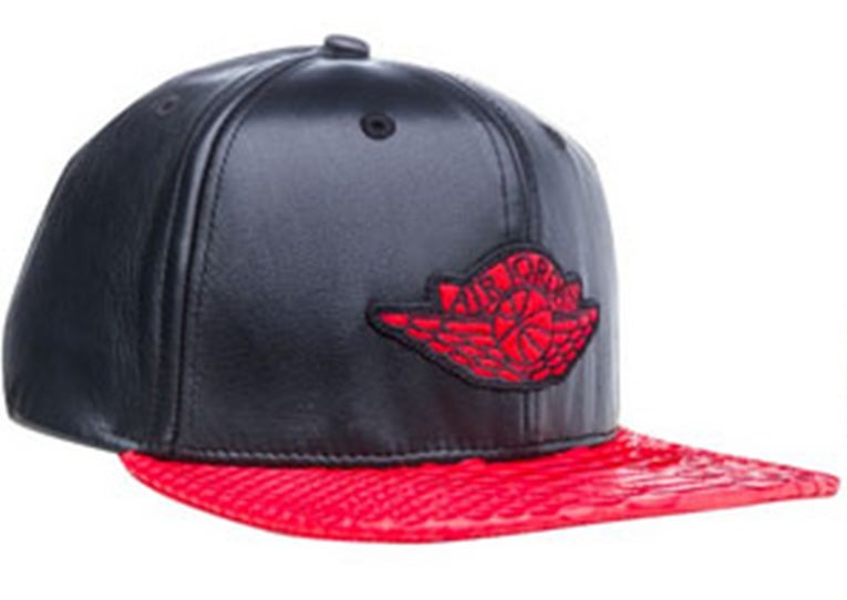 Just Don x Jordan Brand Wings hat - Red   Hustle4kicks 3bbf314f615
