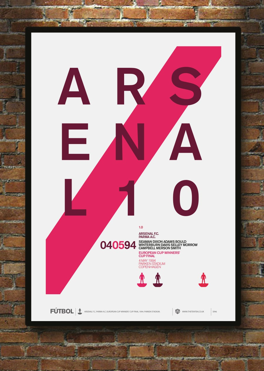 Image of ARSENAL 1994 CUP WINNERS' CUP