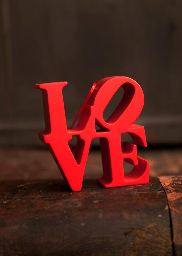 Red Love Ornament
