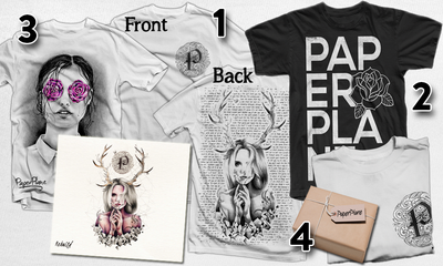 Image of All 'PaperPlane' EP's/Merch & Other