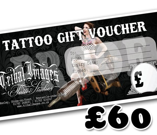 £60 Gift Voucher - Tribal Images
