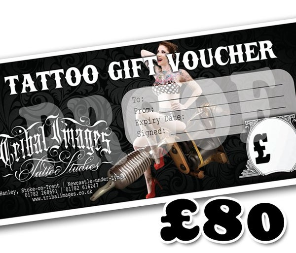 £80 Gift Voucher - Tribal Images