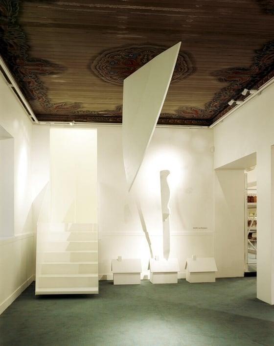 Image of Skulptur # Kniven i huset - 48000kr