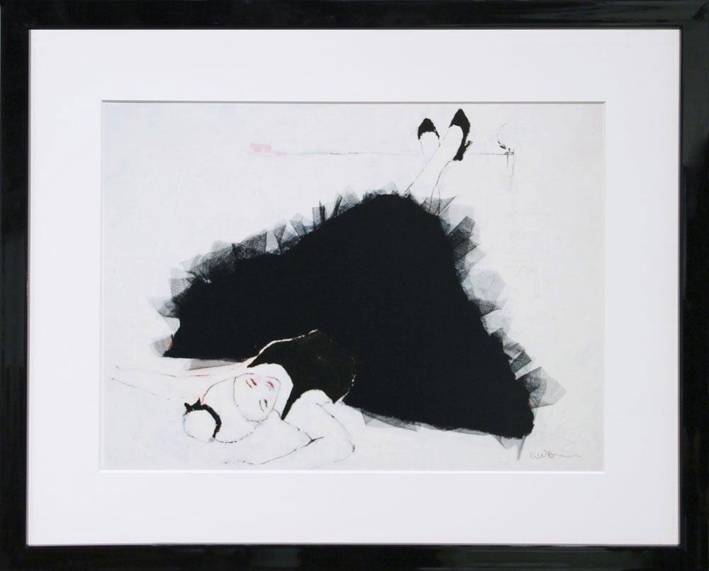 Image of A5/A4/A3 Print # Ballerine - 100KR/250KR/500KR