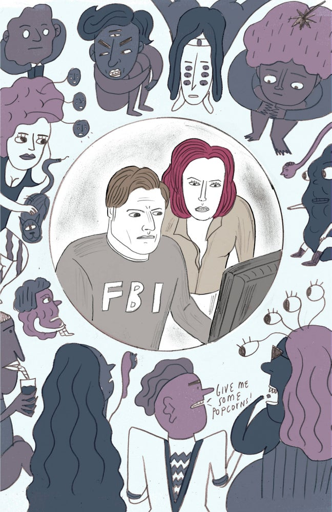 Image of We Are Not Who We Are: an X-Files Zine