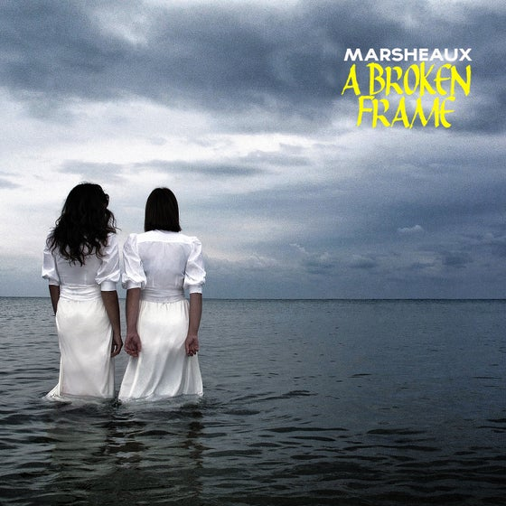 "Image of MARSHEAUX ""A Broken Frame"" white vinyl LTD EDITION"