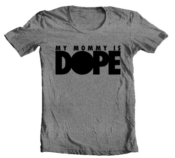 Image of MYMOMMYISDOPE Tri-blend Tee