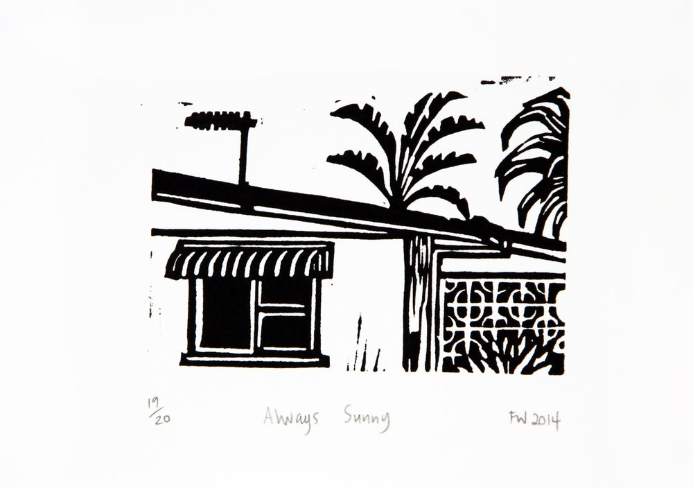 "Image of ""Always Sunny""  2014"
