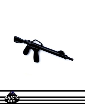 Image of Cosmic Architect M16 Glass Assault Rifle Pendant