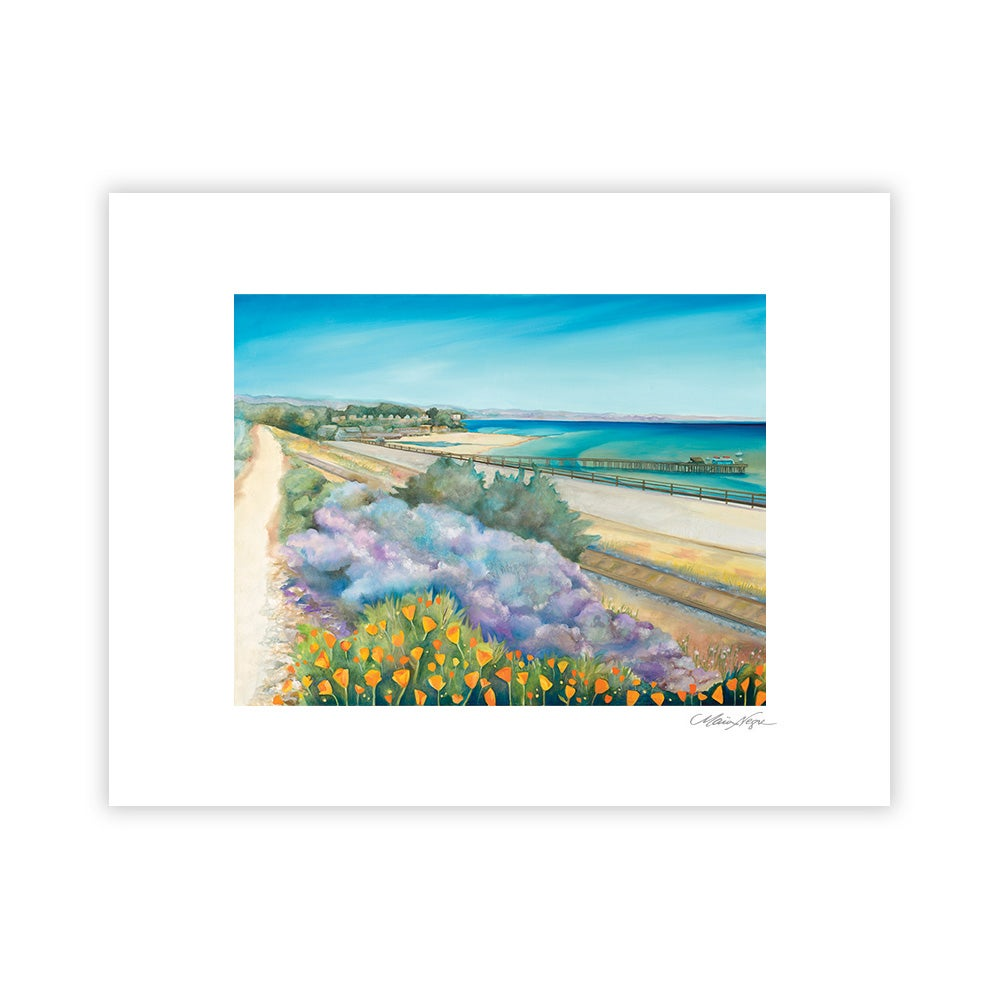 Image of Capitola Pathway, Archival Paper Print