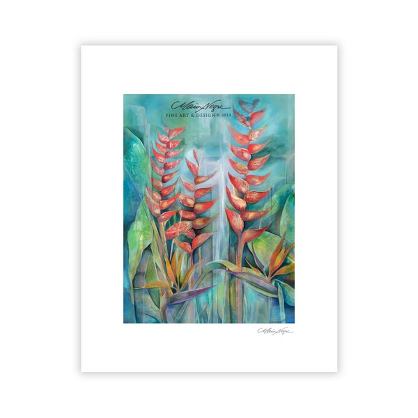 Image of Heliconias, Archival Paper Print