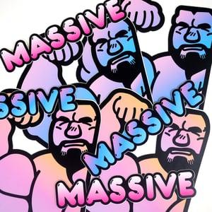 Image of MASSIVE Sticker Set