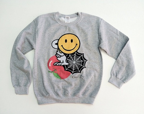 Image of Things Crewneck Sweatshirt (Black or Heather Grey)
