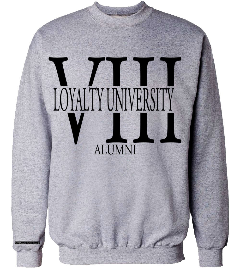 Image of Loyal Alumni VIII Crewneck Sweater (unisex)