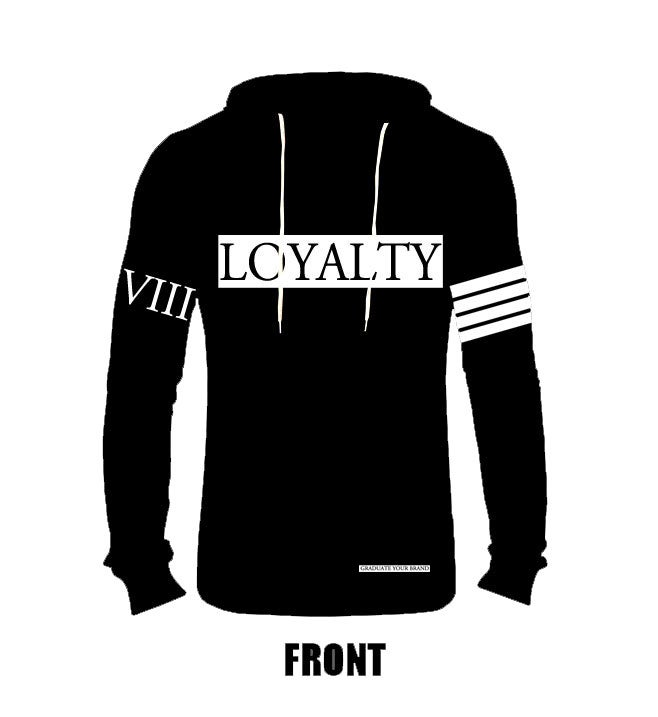 "Image of Lightweight ""Loyalty"" Hoodie (Unisex)"
