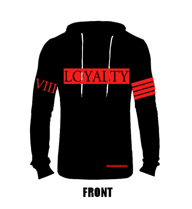 "Image of Lightweight ""Loyalty"" Hoodie (Unisex)"