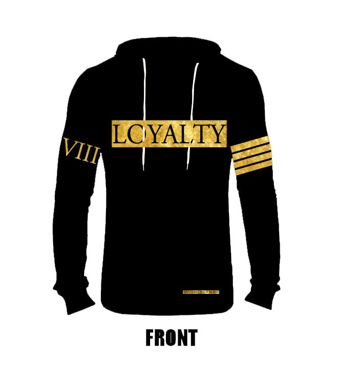 "Image of 24k GOLD Lightweight ""Loyalty"" Hoodie (Unisex)"