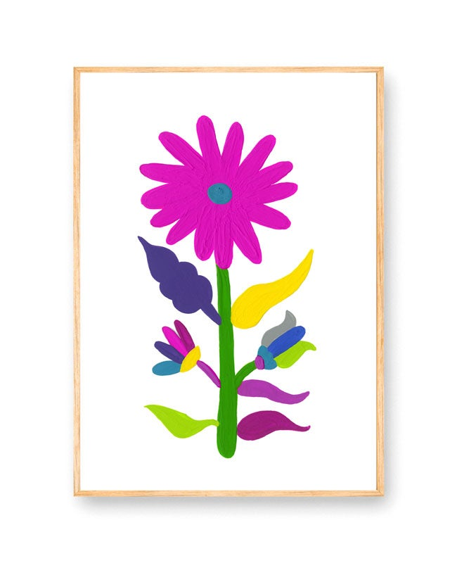 Image of Rainbow Blossom print