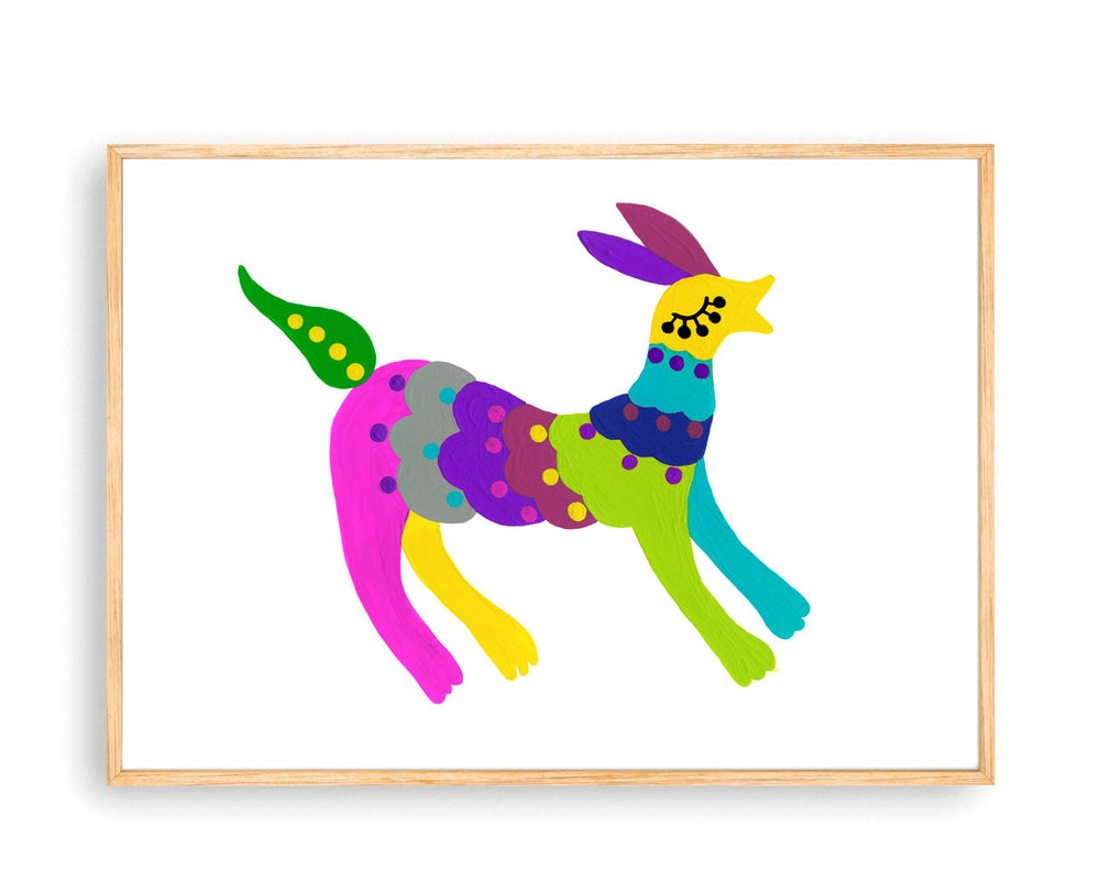 Image of Rainbow Beast print