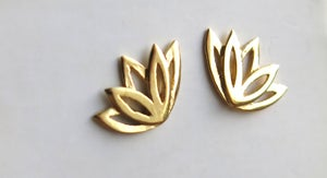 Image of Lotus Love studs