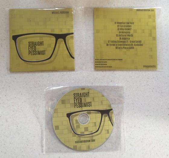 Image of 'Straight Eyed Pessimist' Album Hard Copy