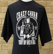 Image of TEDDY BOY ROCK 'N' ROLL T-SHIRT (MENS) (CRAZY CAVAN STORE)