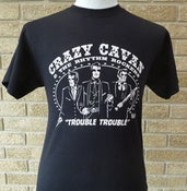 Image of TROUBLE TROUBLE T-SHIRT  (MENS) (CRAZY CAVAN STORE)