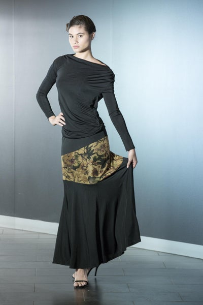 Image of Drop Top E1596 Black or Lace back