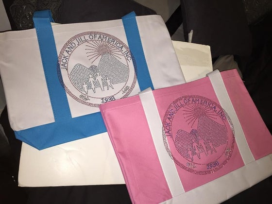 Image of Jack and Jill of America Tote Bags