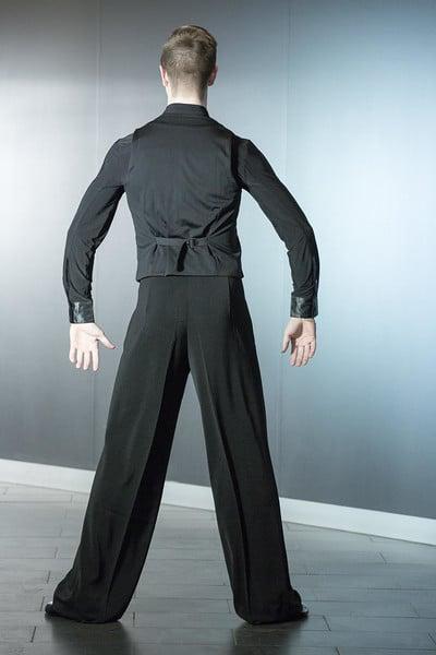 Image of Ballroom Pants w/Satin SALE (B3551AC) Dancewear latin ballroom