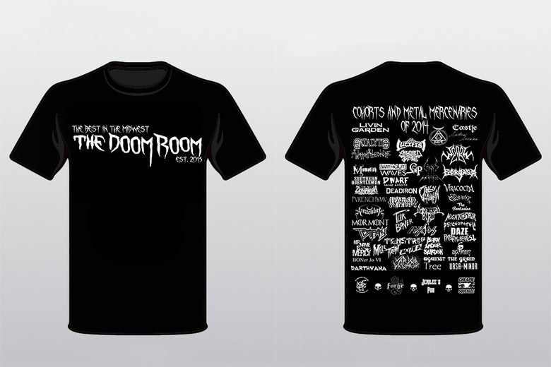Image of Best of 2014 Doom Room Tee